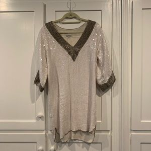 Stunning sequin tunic dress by Foley